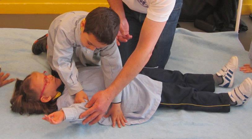Os Nosos Alumnos Participan Nun Taller De Primeiros Auxilios E Reanimación Cardipulmonar