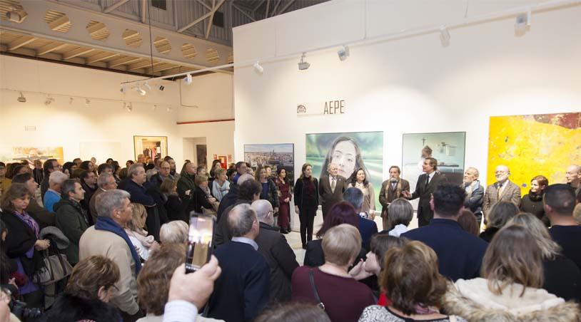 Breogán Torres, Ex-alumno Del Colegio Losada, Expone Su Obra En El 53º Premio Reina Sofía De Pintura Y Escultura