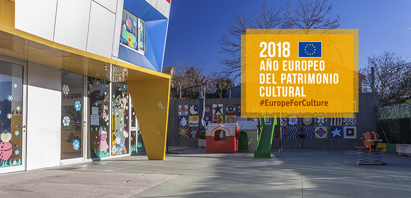 Colexio Losada Recibe O Selo Europeo Patrimonio Cultural