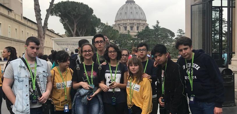 ¡El Colegio Losada Viaja A Roma!