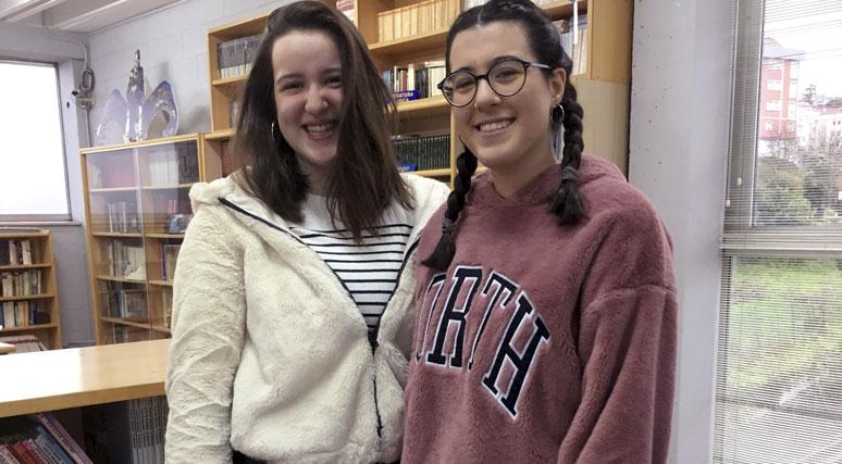 Dúas Alumnas Do Colegio Losada, Bolseiras Pola Fundación Amancio Ortega