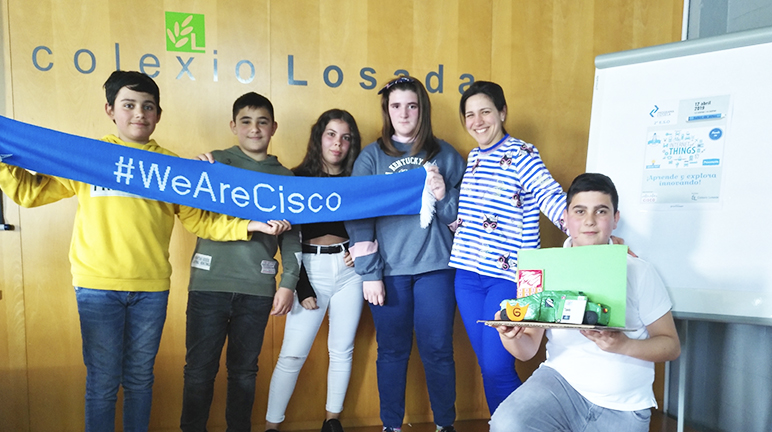 Programa Escuela Cisco IT Rocks